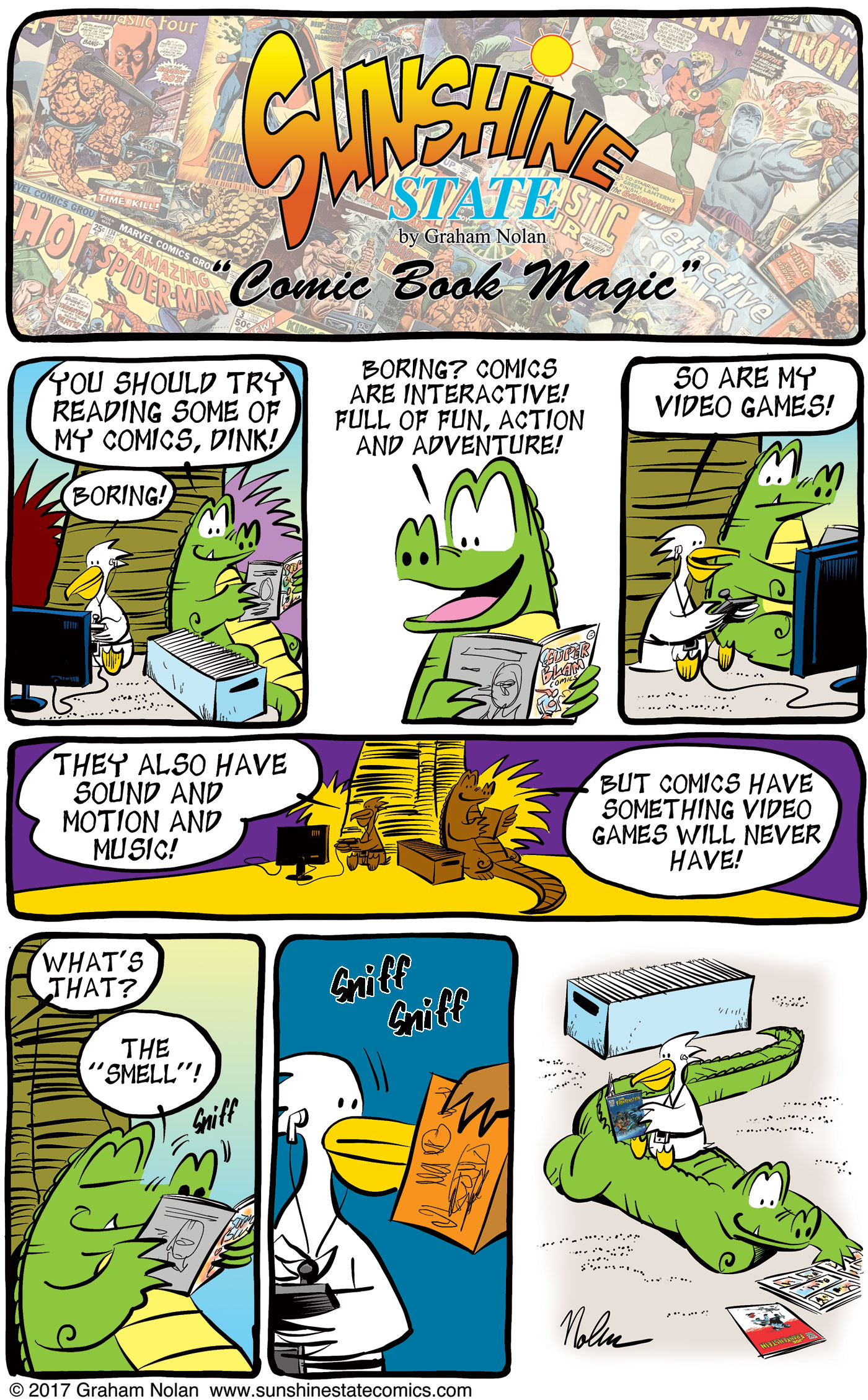 Comic Book Magic