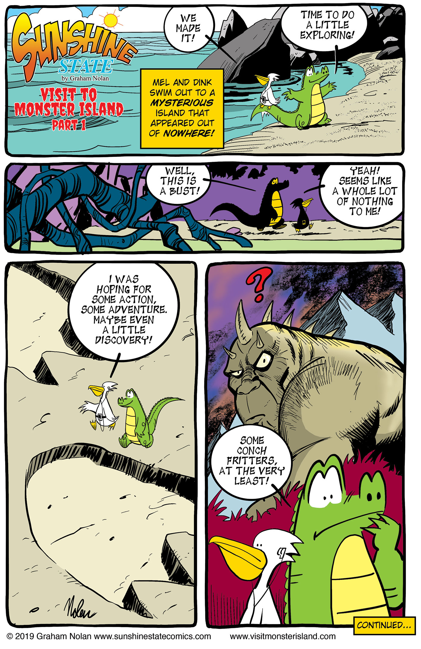 Visit to Monster Island: Part 1